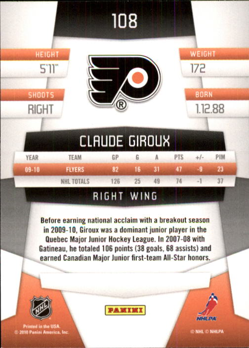 2010-11-Panini-Certified-Hockey-Cards-Pick-From-List thumbnail 189