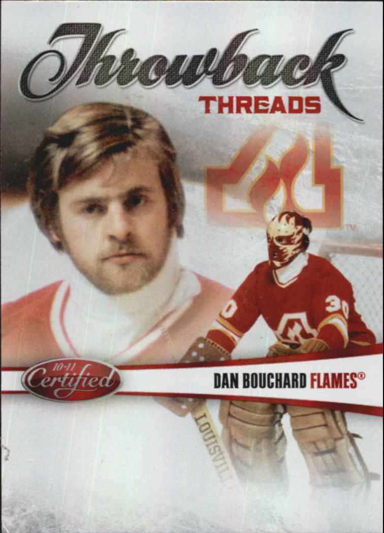 2010-11 Certified Throwback Threads Mirror Red #7 Simon Nolet