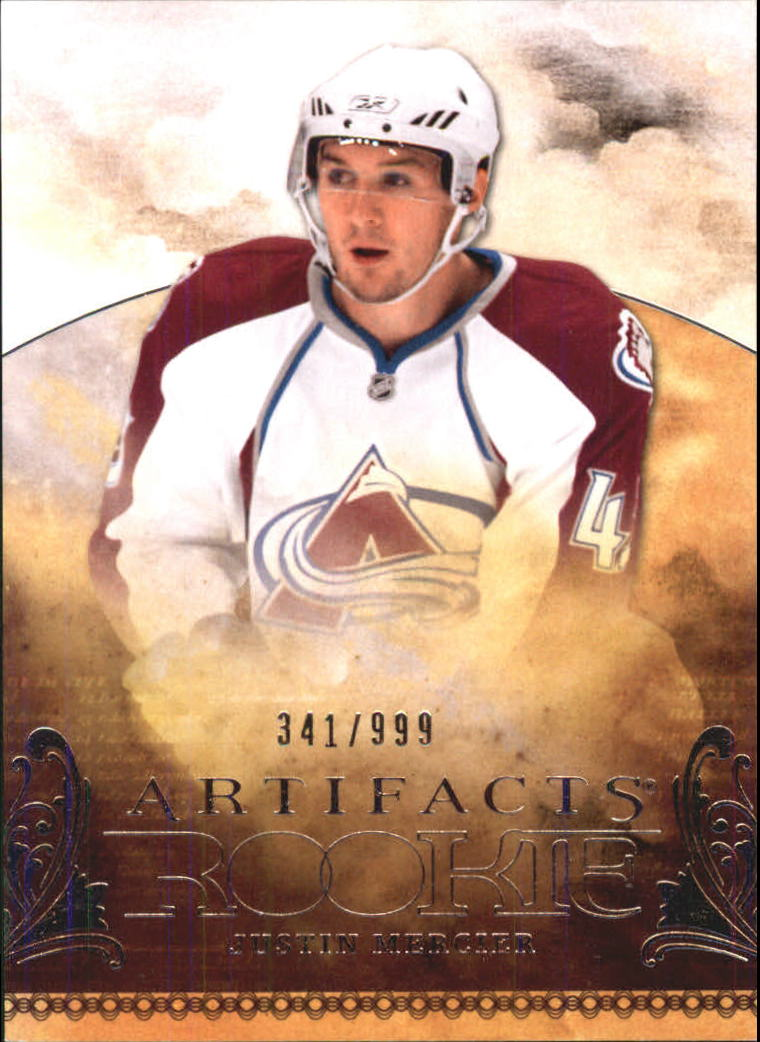 2010-11 Artifacts #108 Justin Mercier RC