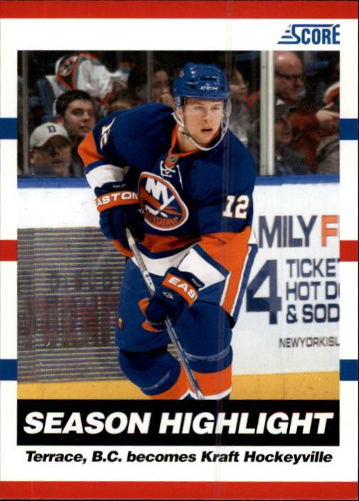 2010-11 Score #5 Josh Bailey HL