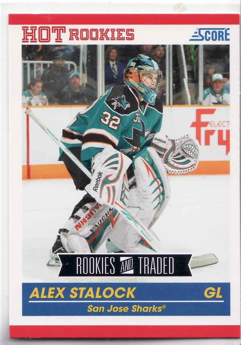 2010-11 Score #625 Alex Stalock RC