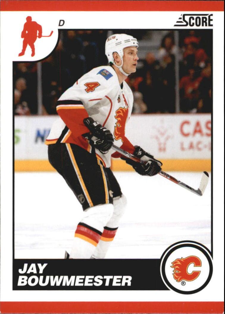 2010-11 Score Glossy #105 Jay Bouwmeester