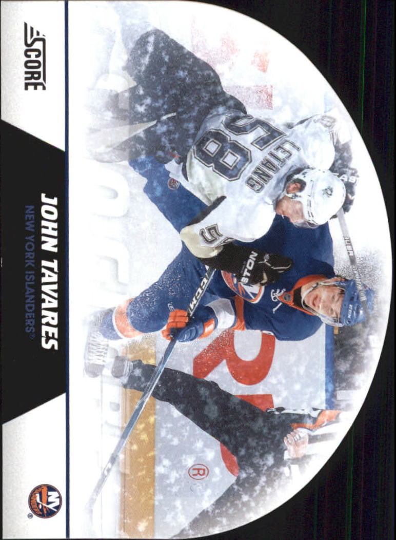 2010-11 Score Snow Globe Die Cuts #12 John Tavares