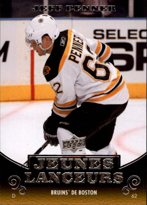 2010-11 Upper Deck French #207 Jeff Penner YG RC