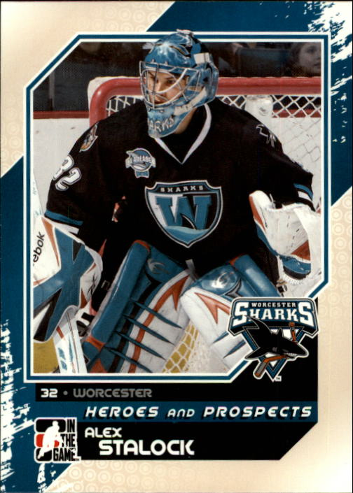2010-11 ITG Heroes and Prospects #119 Alex Stalock