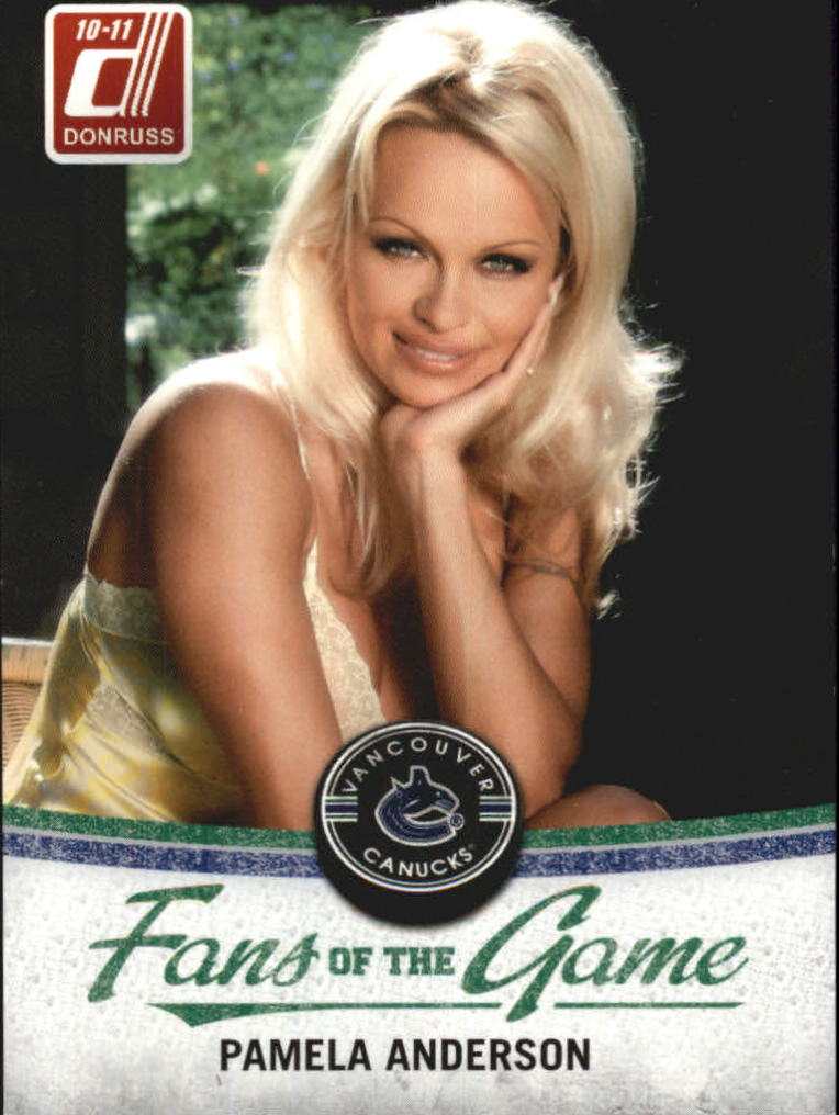 2010-11 Donruss Fans of the Game #2 Pamela Anderson