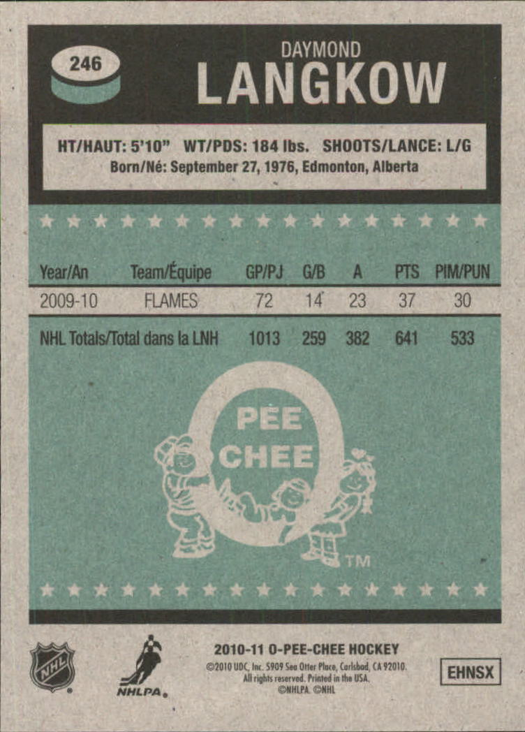 2010-11-O-Pee-Chee-Retro-Parallel-Hockey-Cards-Pick-From-List miniature 53
