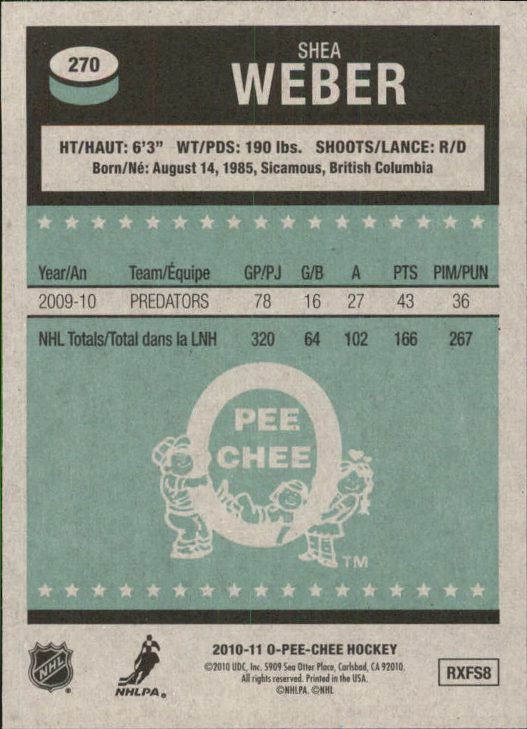 2010-11-O-Pee-Chee-Retro-Parallel-Hockey-Cards-Pick-From-List miniature 55