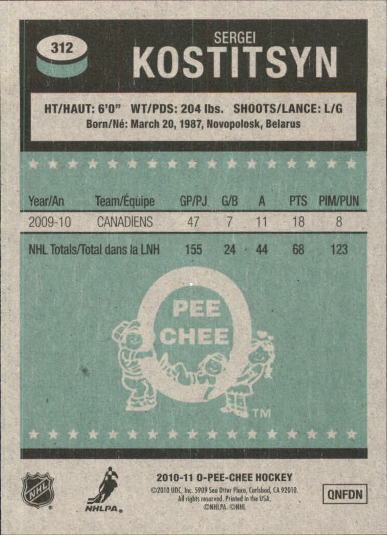 2010-11-O-Pee-Chee-Retro-Parallel-Hockey-Cards-Pick-From-List miniature 68