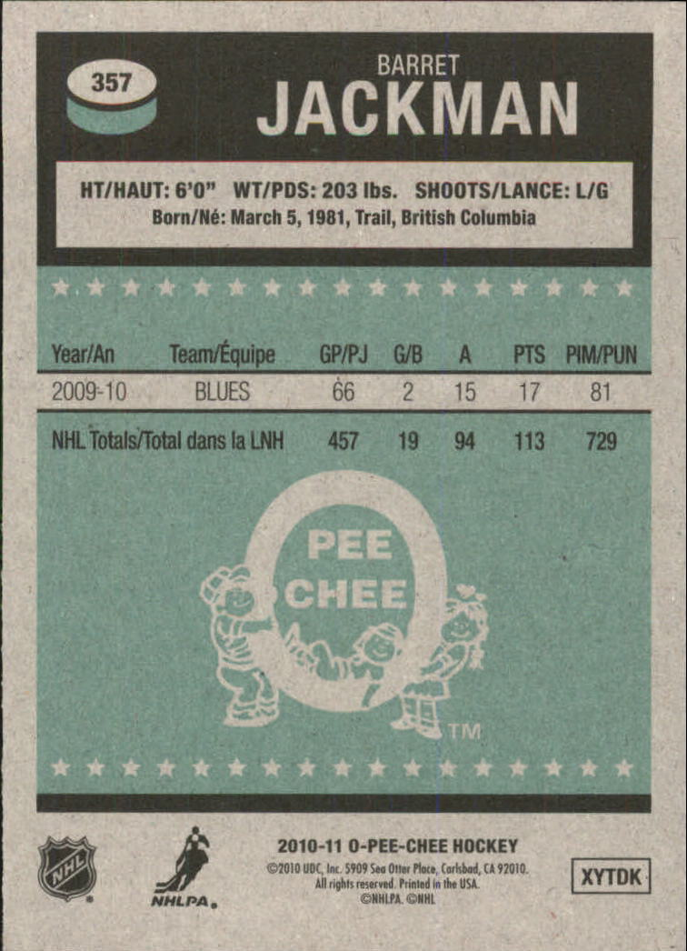2010-11-O-Pee-Chee-Retro-Parallel-Hockey-Cards-Pick-From-List miniature 82
