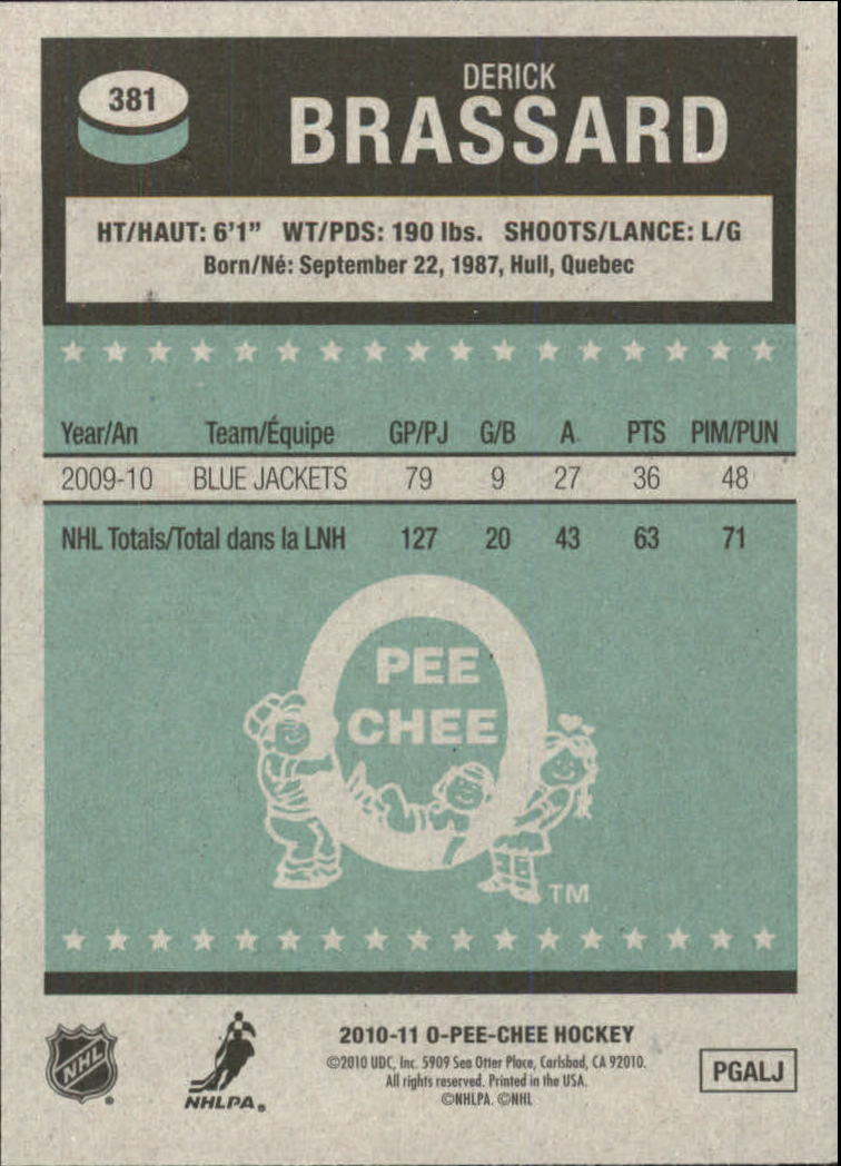 2010-11-O-Pee-Chee-Retro-Parallel-Hockey-Cards-Pick-From-List miniature 90