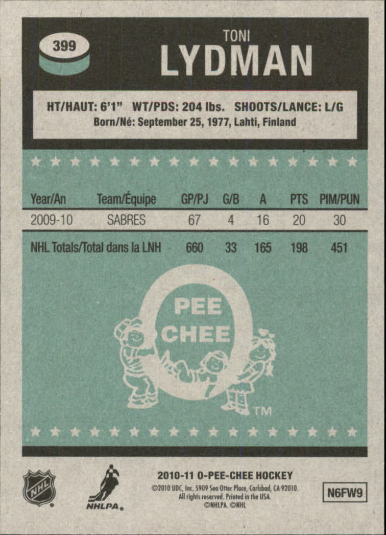 2010-11-O-Pee-Chee-Retro-Parallel-Hockey-Cards-Pick-From-List miniature 94