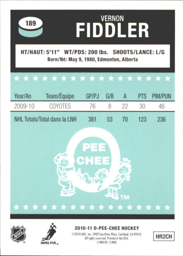 2010-11-O-Pee-Chee-Retro-Rainbow-Hockey-Card-Pick miniature 83