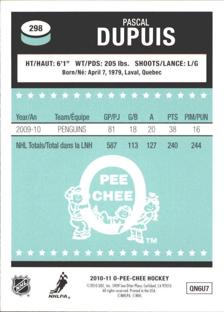 2010-11-O-Pee-Chee-Retro-Rainbow-Hockey-Card-Pick miniature 125