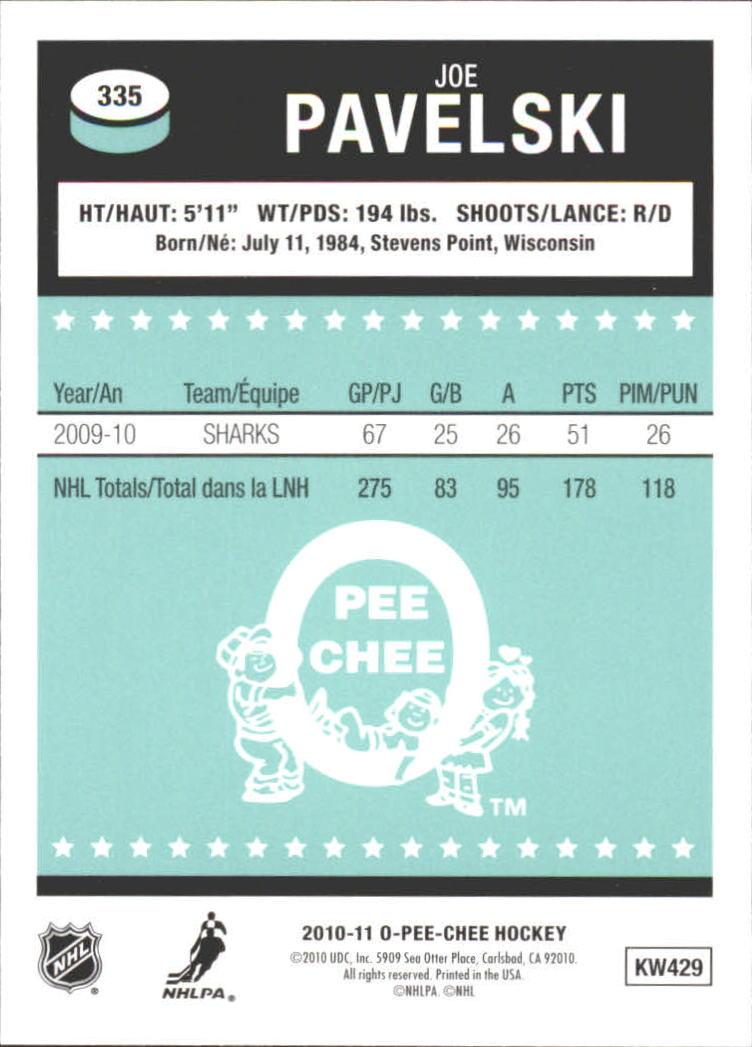 2010-11-O-Pee-Chee-Retro-Rainbow-Hockey-Card-Pick miniature 146