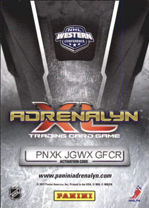 2010-11 Adrenalyn XL #251 Nick Bonino RC