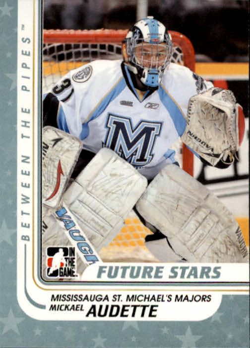 2010-11 Between The Pipes #2 Mickael Audette