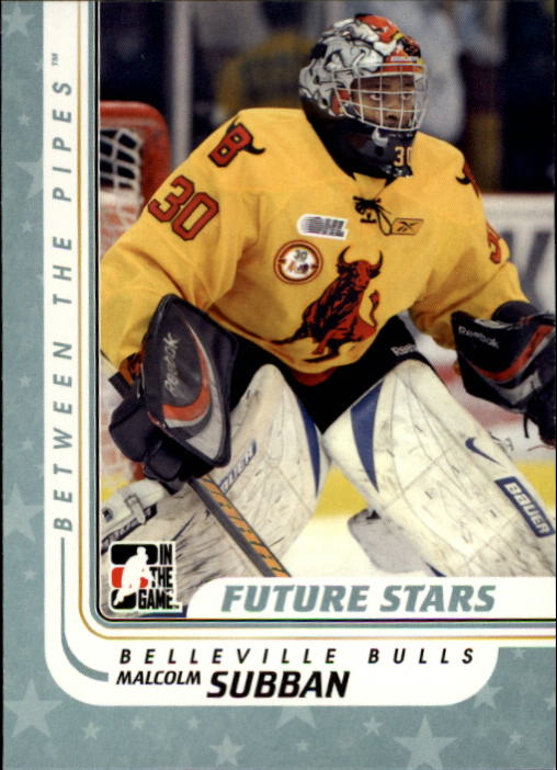 2010-11 Between The Pipes #25 Malcolm Subban