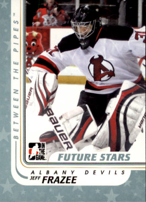 2010-11 Between The Pipes #64 Jeff Frazee
