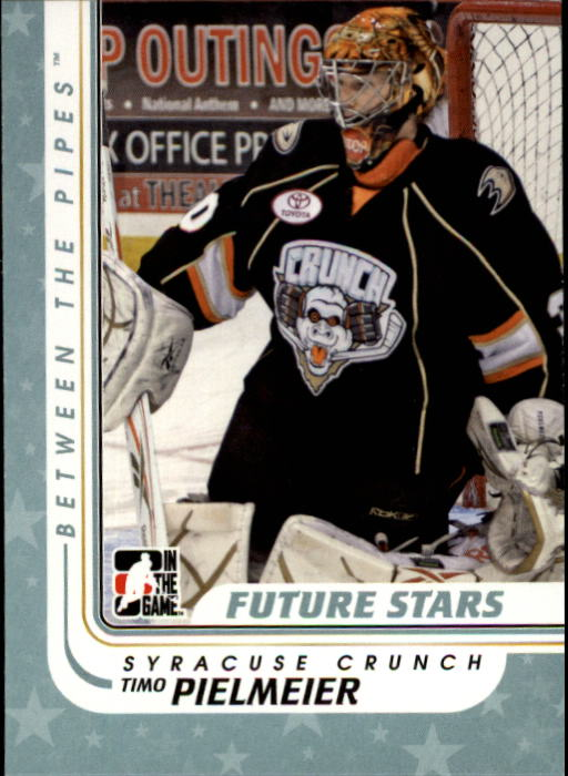 2010-11 Between The Pipes #85 Timo Pielmeier RC