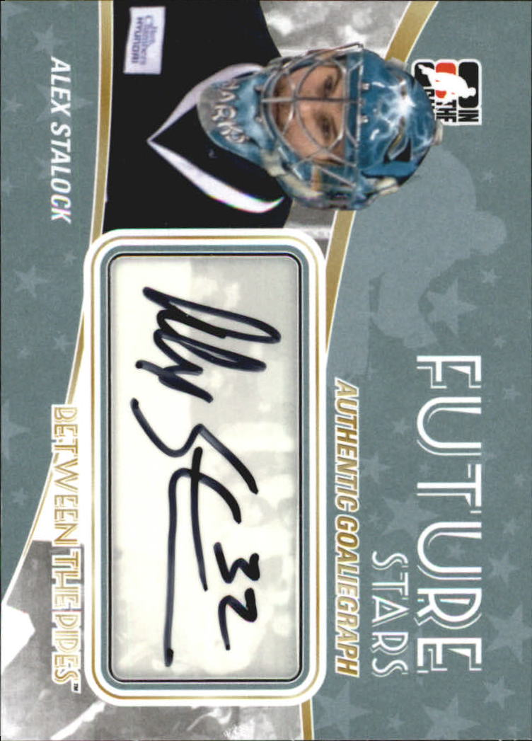 2010-11 Between The Pipes Autographs #AAS Alex Stalock
