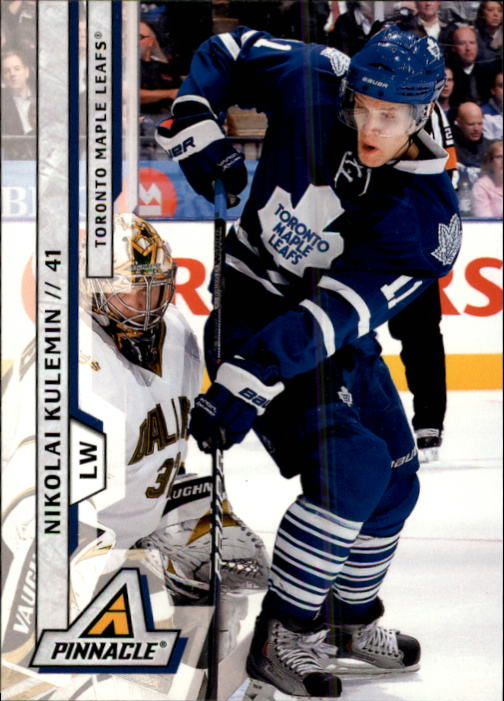 2010-11 Pinnacle #18 Nikolai Kulemin