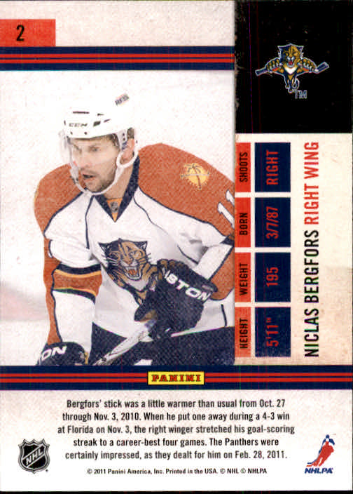 2010-11-Playoff-Contenders-Hockey-Cards-1-100-Pick-From-List thumbnail 5