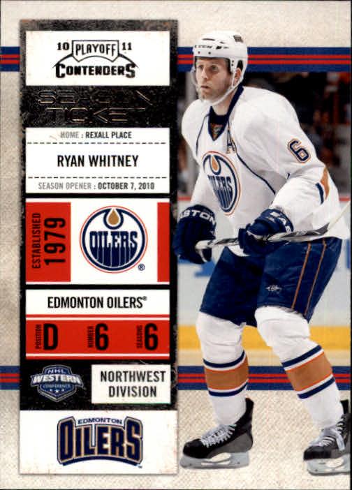 2010-11 Playoff Contenders #8 Ryan Whitney