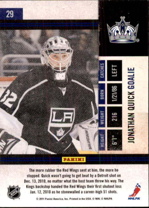 2010-11-Playoff-Contenders-Hockey-Cards-1-100-Pick-From-List thumbnail 59