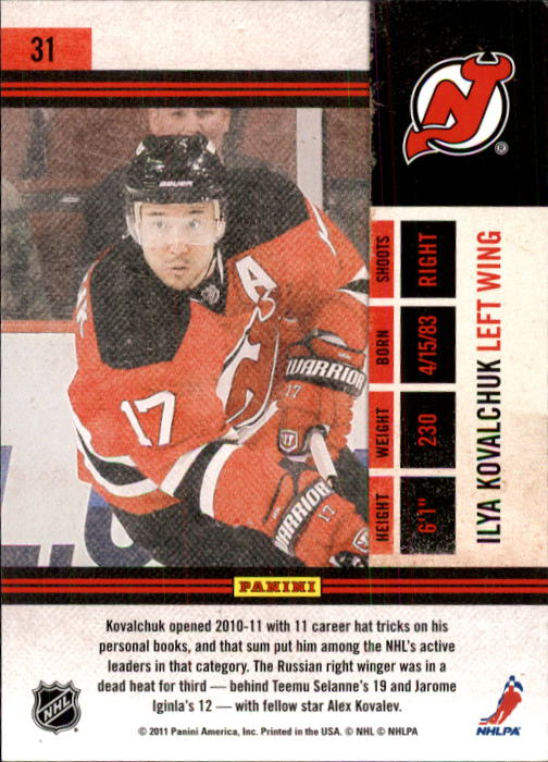 2010-11-Playoff-Contenders-Hockey-Cards-1-100-Pick-From-List thumbnail 63