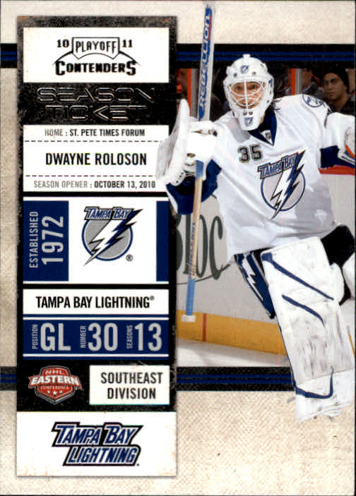 2010-11 Playoff Contenders #32 Dwayne Roloson