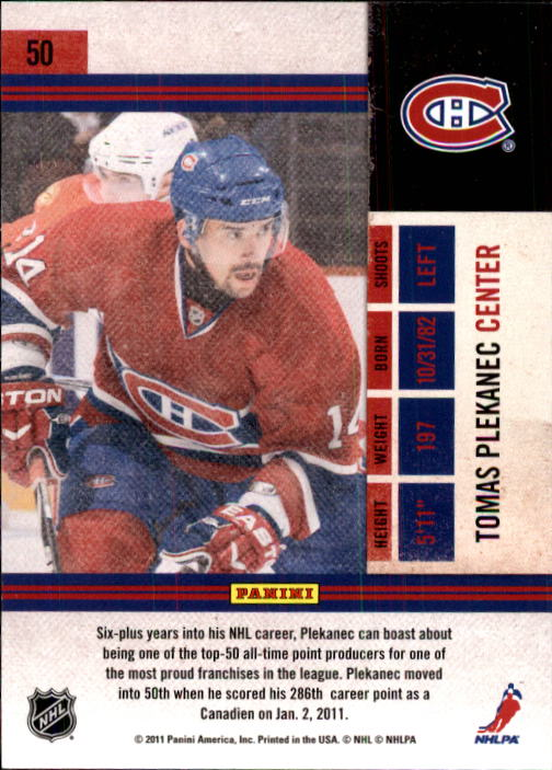 2010-11-Playoff-Contenders-Hockey-Cards-1-100-Pick-From-List thumbnail 101