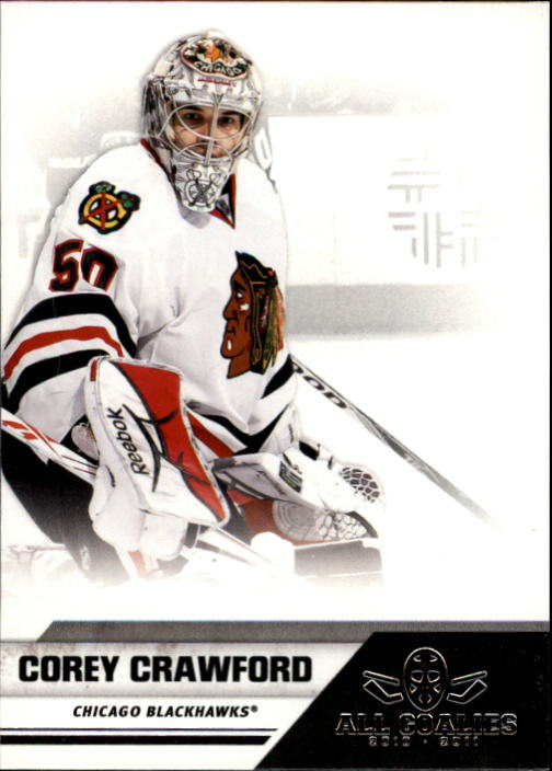 2010-11 Panini All Goalies #17 Corey Crawford
