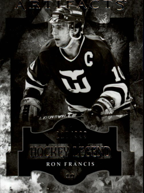 2011-12 Artifacts #110 Ron Francis L