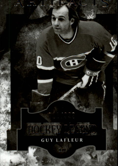 2011-12 Artifacts #114 Guy Lafleur L
