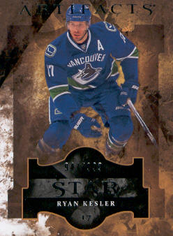 2011-12 Artifacts #123 Ryan Kesler S