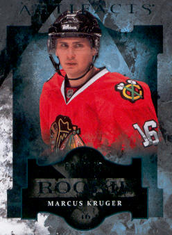 2011-12 Artifacts #156 Marcus Kruger RC
