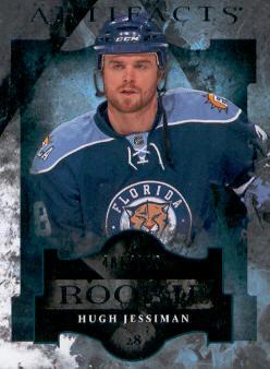 2011-12 Artifacts #157 Hugh Jessiman RC