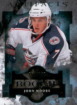 2011-12 Artifacts #159 John Moore RC