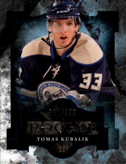 2011-12 Artifacts #160 Tomas Kubalik RC