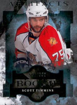 2011-12 Artifacts #165 Scott Timmins RC