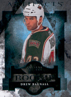 2011-12 Artifacts #166 Drew Bagnall RC