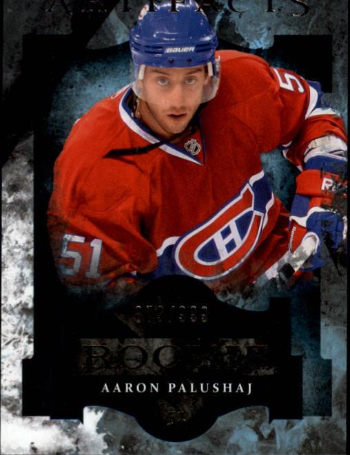 2011-12 Artifacts #168 Aaron Palushaj RC