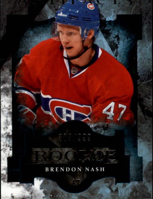 2011-12 Artifacts #169 Brendon Nash RC