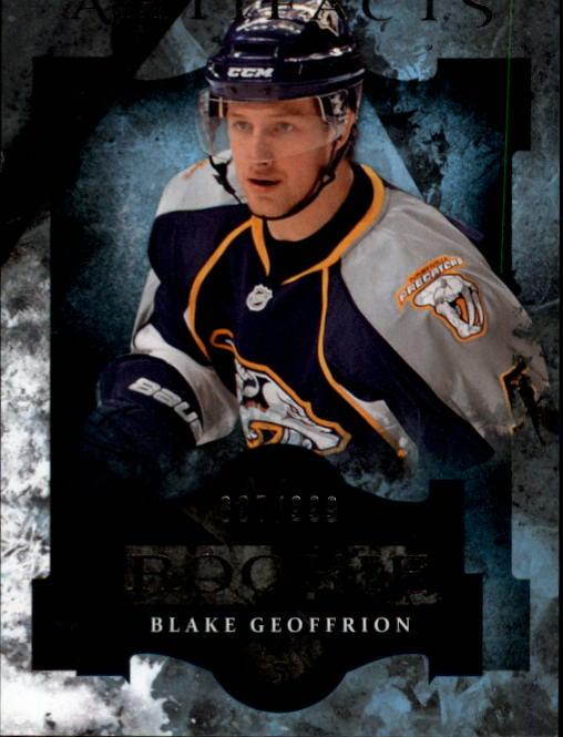 2011-12 Artifacts #171 Blake Geoffrion RC
