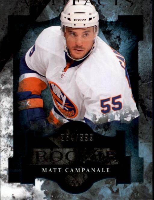 2011-12 Artifacts #173 Matt Campanale RC
