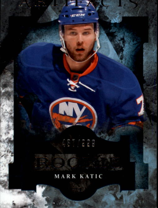 2011-12 Artifacts #177 Mark Katic RC