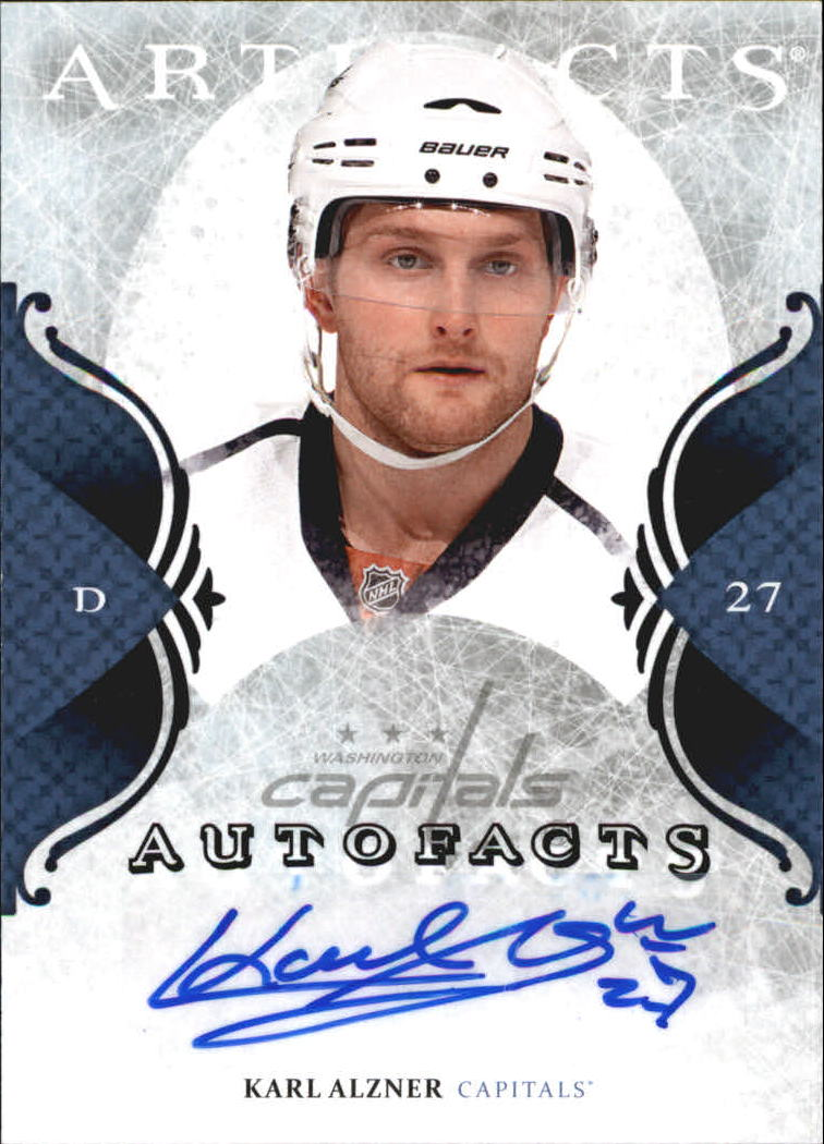 2011-12 Artifacts Autofacts #AAL Karl Alzner F
