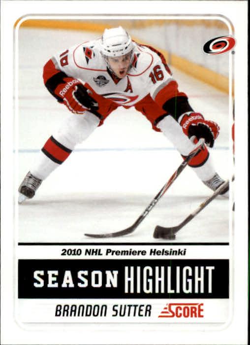 2011-12 Score #3 Brandon Sutter SH