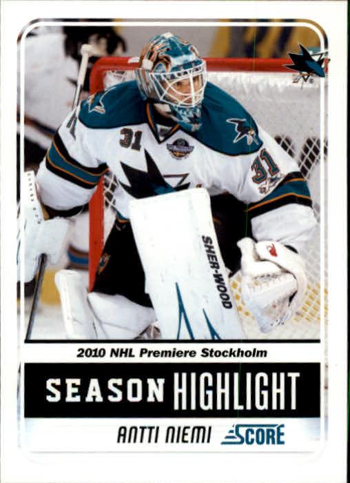 2011-12 Score #4 Antti Niemi SH